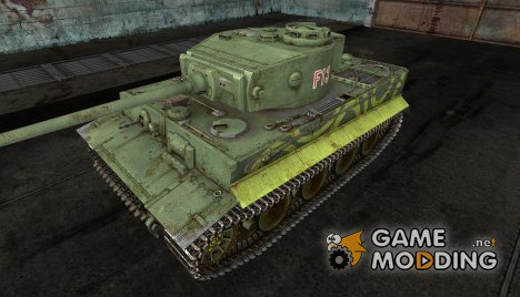 шкурка для Pz VI Tiger для World of Tanks