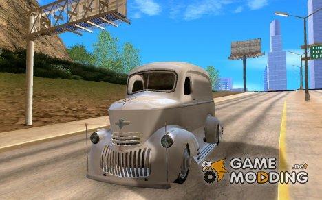 """Chevrolet """"P.O.E."""" ( C.O.E. paneltruck ) 1946 ambulance для GTA San Andreas"""