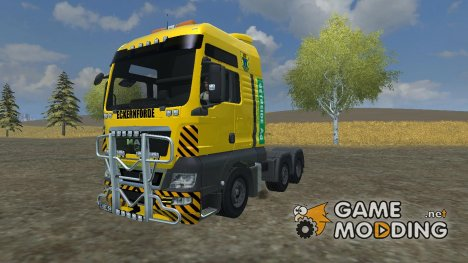 MAN TGS with Strobe Light v 2.5 for Farming Simulator 2013