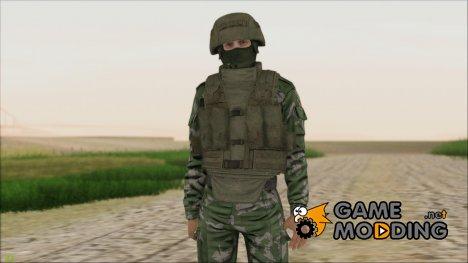 Боец ВДВ v1 для GTA San Andreas