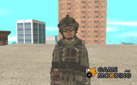 Скин солдата из Cod MW 2 for GTA San Andreas
