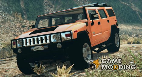 Hummer H2 FINAL для GTA 5