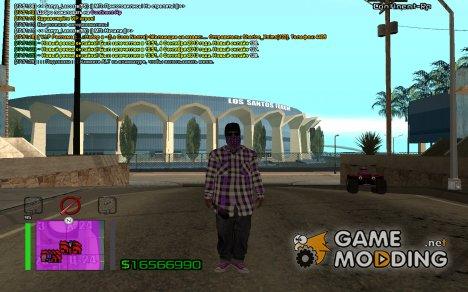 New Ballas 3 for GTA San Andreas