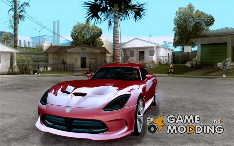 Dodge SRT Viper GTS 2012 V1.0 for GTA San Andreas