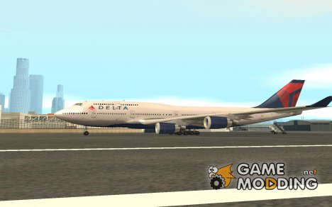 Boeing 747-400 Delta Airlines для GTA San Andreas