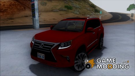 Lexus GX460 2014 for GTA San Andreas