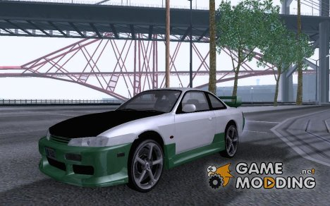 Nissan 200SX Soft Tuning for GTA San Andreas