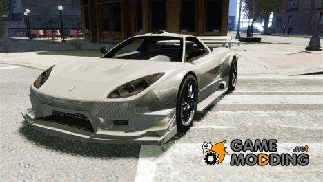 Honda NSX Type R VeilSide for GTA 4