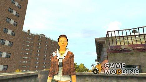 Аликс Вэнс (Half Life 2) для GTA 4