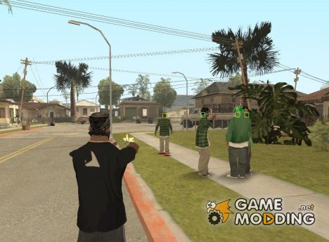 Mark and Execute for GTA San Andreas