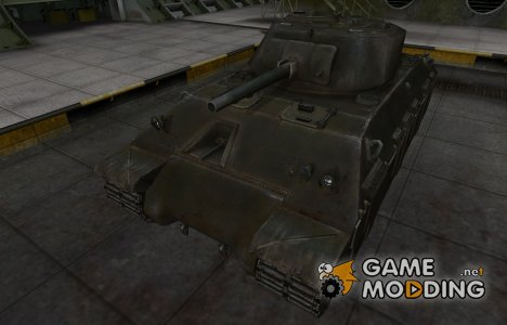 Шкурка для американского танка T14 for World of Tanks