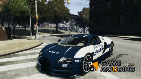 Bugatti Veryon SS COP for GTA 4