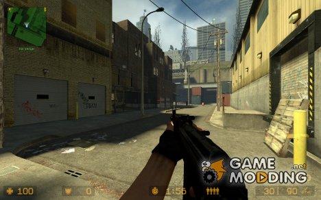 Ak-73 + X Animx для Counter-Strike Source