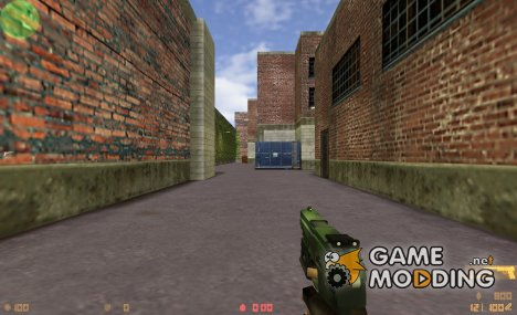 Green USP for Counter-Strike 1.6