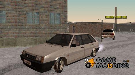 ВАЗ 2109 (Зимняя) for GTA San Andreas