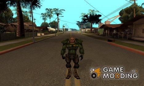 Человек в бронежилете для GTA San Andreas