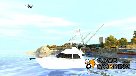 Sport fishing yacht для GTA 4