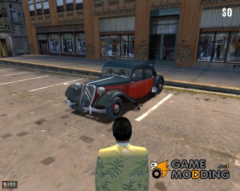 Citroen Traction 11B for Mafia: The City of Lost Heaven