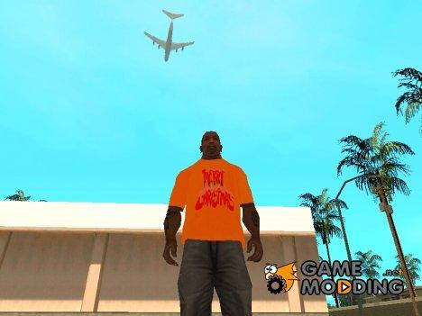 Праздничная футболка for GTA San Andreas