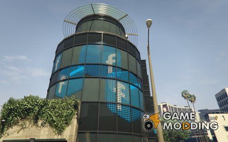 Facebook Building (Exterior Only) для GTA 5