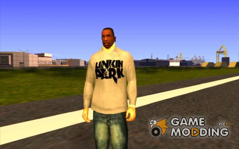 Свитер Линкин Парк v0.1 beta for GTA San Andreas