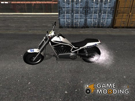 Police Bike из GTA IV for GTA San Andreas