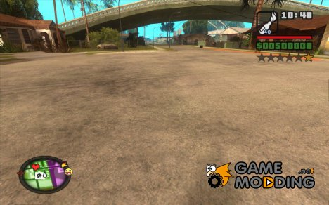 HUD for GTA San Andreas