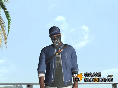 Marcus Holloway - Watch Dogs 2 for GTA San Andreas