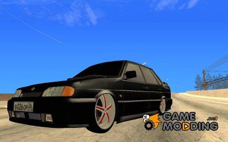 Ваз 2115 на спицах for GTA San Andreas