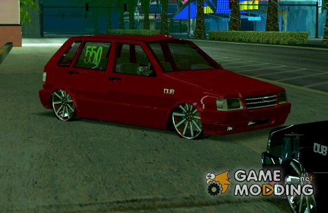 Fiat Uno 2010 Clase 4 for GTA San Andreas