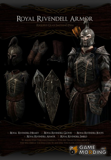 Noldor Content Pack - Нолдорское снаряжение 1.02 для TES V Skyrim