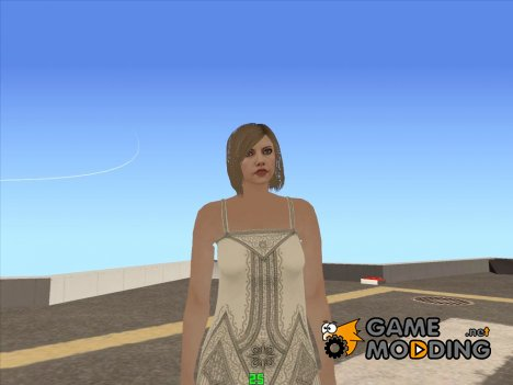 Female GTA V Online (Be My Valentine) v2 для GTA San Andreas