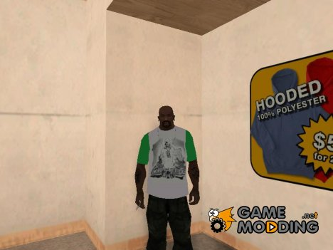 Футболка в стиле Rap for GTA San Andreas