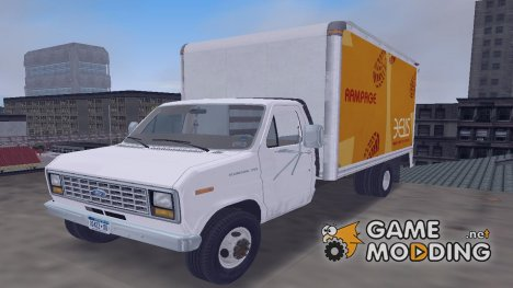 Ford E-350 1988 cube truck for GTA 3
