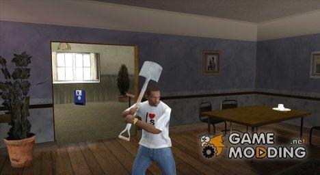 Лопата из Far Cry 3 for GTA San Andreas