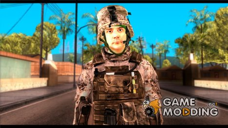 Chaffin from Battlefield 3 для GTA San Andreas