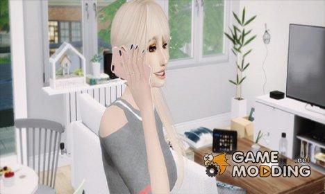 Дефолтная замена телефона MXIMS Apple iPhone 7 for Sims 4