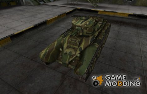 Скин для танка СССР БТ-2 for World of Tanks