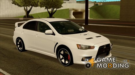 Mitsubishi Lancer Evo X Evolution for GTA San Andreas