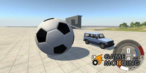 Гигантский футбольный мяч для BeamNG.Drive