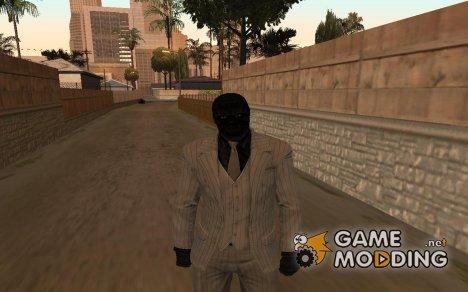 """Чёрная маска из """"Batman arkham origins"""" для GTA San Andreas"""