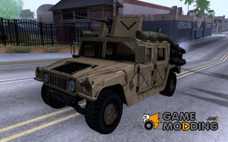 Hummer HMMWV w/mounted Cal.50 for GTA San Andreas