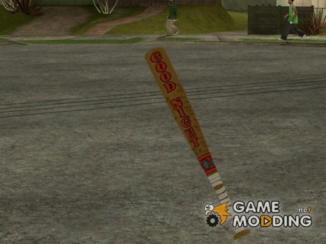 Harley Quinn Baseball Bat for GTA San Andreas