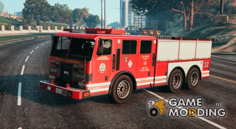 Firetruck - Heavy rescue vehicle for GTA 5
