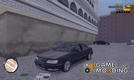 Infiniti I30 для GTA 3