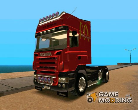 Scania R620 McDonald's for GTA San Andreas
