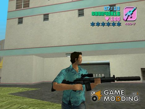 HK G3 for GTA Vice City