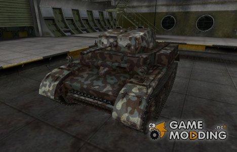 Горный камуфляж для PzKpfw II Luchs for World of Tanks