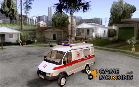 ГАЗель 2705 Скорая помощь for GTA San Andreas