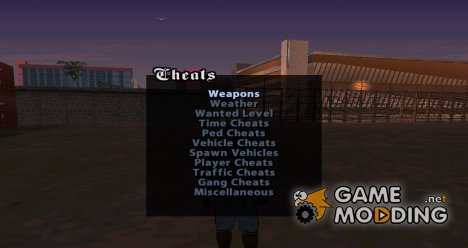 Weapons Menu Mod for GTA San Andreas